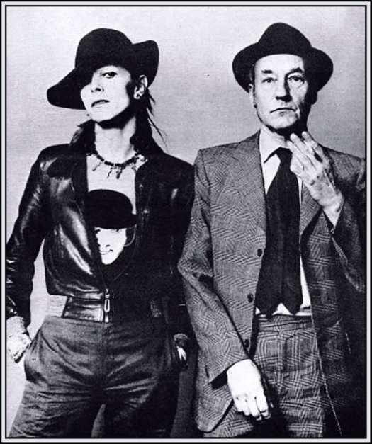 David Bowie i William Burroughs